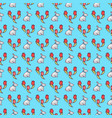 easter bunnies seamless pattern17 vector image vector image
