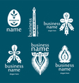 New icons from paper vector image vector image
