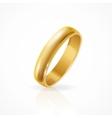 Shining Golden Ring vector image