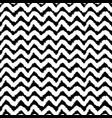 monochrome chevron seamless pattern vector image