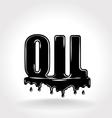 oil symbol vector image
