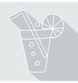 soda pop icon with glaze eps vector image