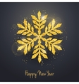 christmas new year greeting card vector image vector image