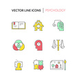 Counseling Icons vector image vector image