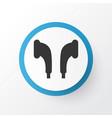 earmuff icon symbol premium quality isolated vector image vector image