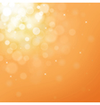 gold bokeh background for christmas and greeting vector image vector image