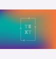 neon gradient ui ux background trendy web color vector image vector image