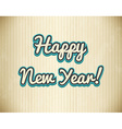 New Year vector image