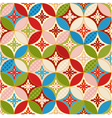 seamless japanese traditional pattern 9 vector image vector image