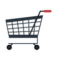 shopping cart symbol isolated vector image vector image