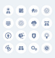 solar energy icons set alternative energetics vector image vector image