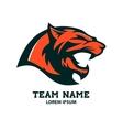 Puma head logo template Design element vector image