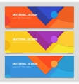 Abstract material design background vector image vector image