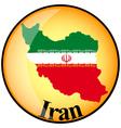 button Iran vector image