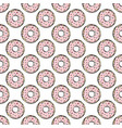 donut textile sweet seamless pattern vector image