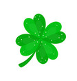 Four-leaf clover in sequins