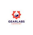 gear labs logo icon vector image vector image