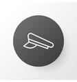 pilot hat icon symbol premium quality isolated vector image vector image
