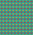 Seamless pattern with butterflies Flat style vector image vector image