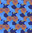 Sketch swirls pattern vector image vector image