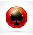 Casino games icon vector image vector image