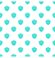 Dollar sign on a sky blue shield pattern vector image