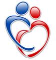 family logo vector image vector image