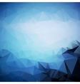 Geometric triangle shapes vector image