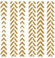 mustard yellow simple brush strokes arrows vector image