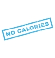 No Calories Rubber Stamp vector image vector image