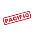 Pacific Rubber Stamp vector image vector image
