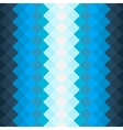 Pattern with dark blue and blue squares vector image