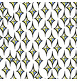 seamless pattern with decorative diamond vector image