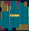 abstract vertical stripes background vector image vector image