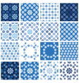 blue seamless 4 380 vector image vector image