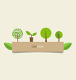 Collection of design tree vector image vector image