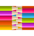Colorful rainbow pencil pattern vector image vector image
