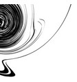 curvy waving lines abstract geometry element vector image