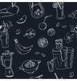 Fresh Juice seamless pattern Vintage vector image vector image