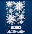 happy new year 2020 holidays background vector image vector image