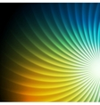 Shiny colorful swirl background vector image