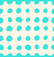 turquoise blue watercolor seamless pattern vector image vector image