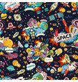 cosmos seamless pattern vector image