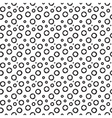 Dot seamless pattern vector image vector image