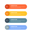 paper infographic21 vector image vector image