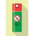 Repellent spray insect vector image