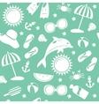 Summer pattern vector image vector image