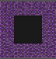 the banner purple sequins glitter sparkle back vector image vector image