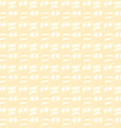 Yellow canvas texture vector image vector image
