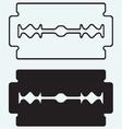 Blade razor vector image